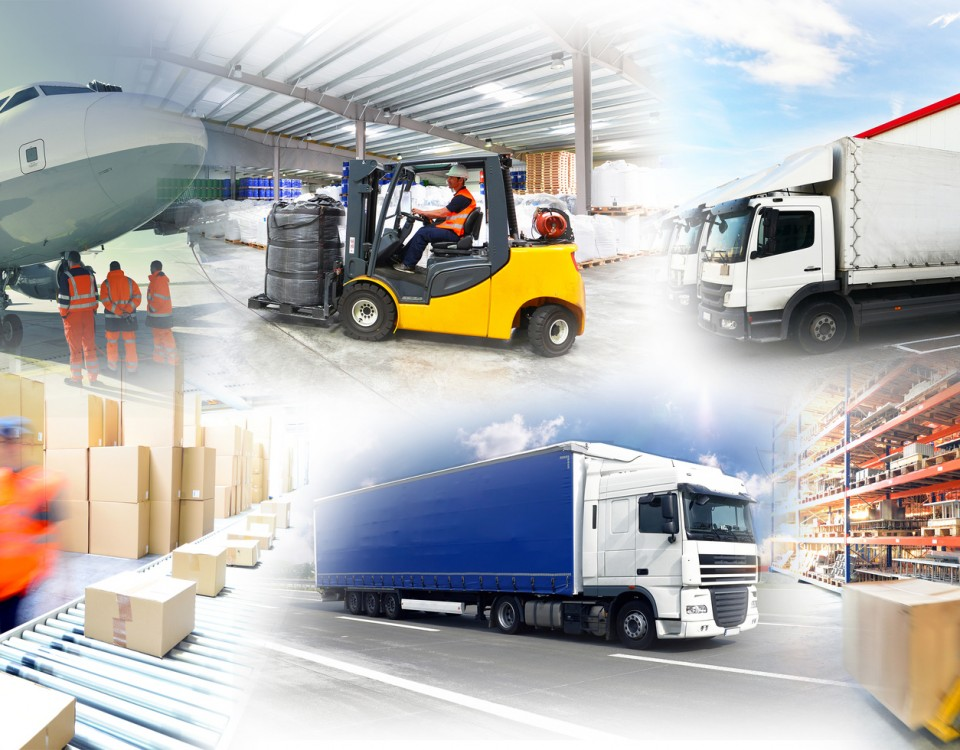 Warenlagerung und Gtertransport // logistics and shipping