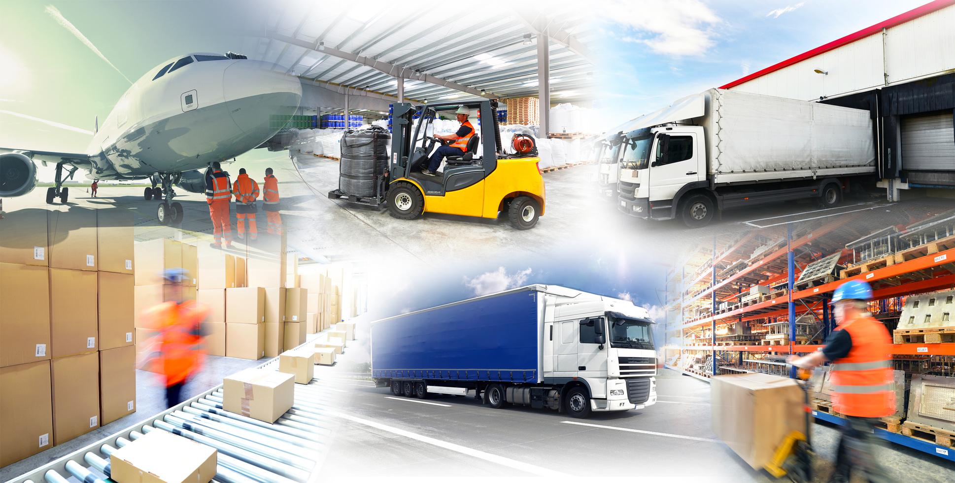 Warenlagerung und Gtertransport // logistics and shipping